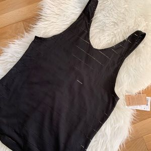 NWT Athleta Max Out Chi 2 in 1 Tank Top